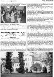 Elstertalbote20130321Seite10_Pressebericht-Leben_in_einem_Jugendheim